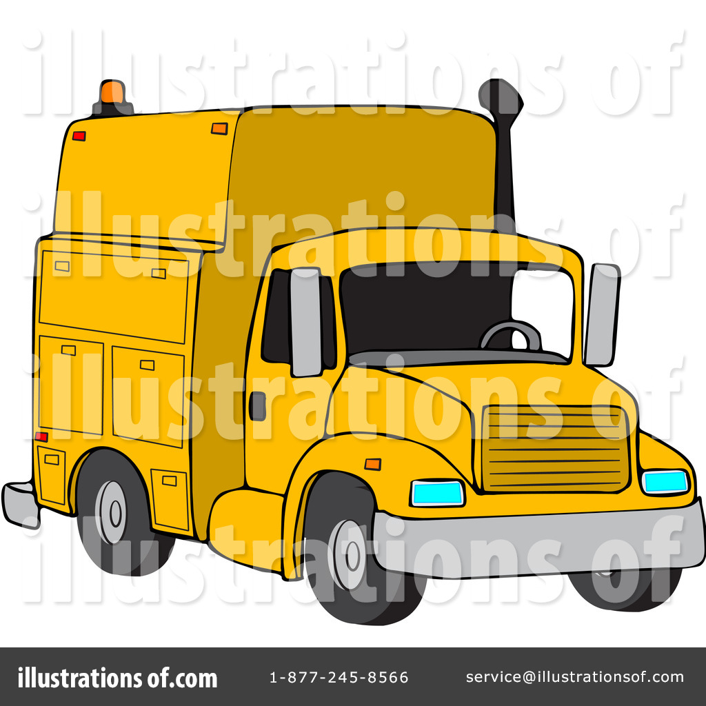 Utility truck clipart picture library library Utility Truck Clipart #88335 - Illustration by djart picture library library