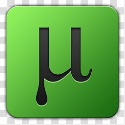 Utorrent icon clipart jpg royalty free Icon , utorrent, green and black uTorrent icon transparent ... jpg royalty free