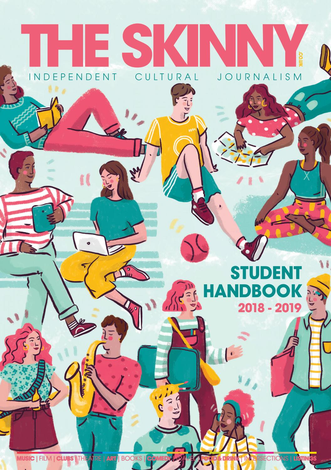 Utter awesomeness bull clipart clip stock The Skinny Student Handbook 2018 by The Skinny - issuu clip stock