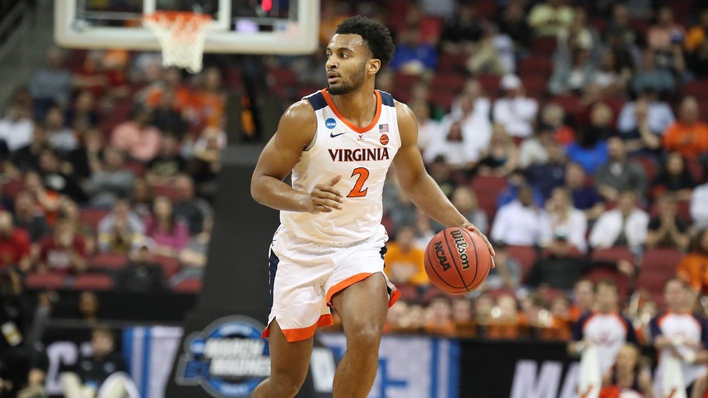 Uva unc cavaliers basketball clipart image black and white Men\'s Basketball - University of Virginia Athletics image black and white