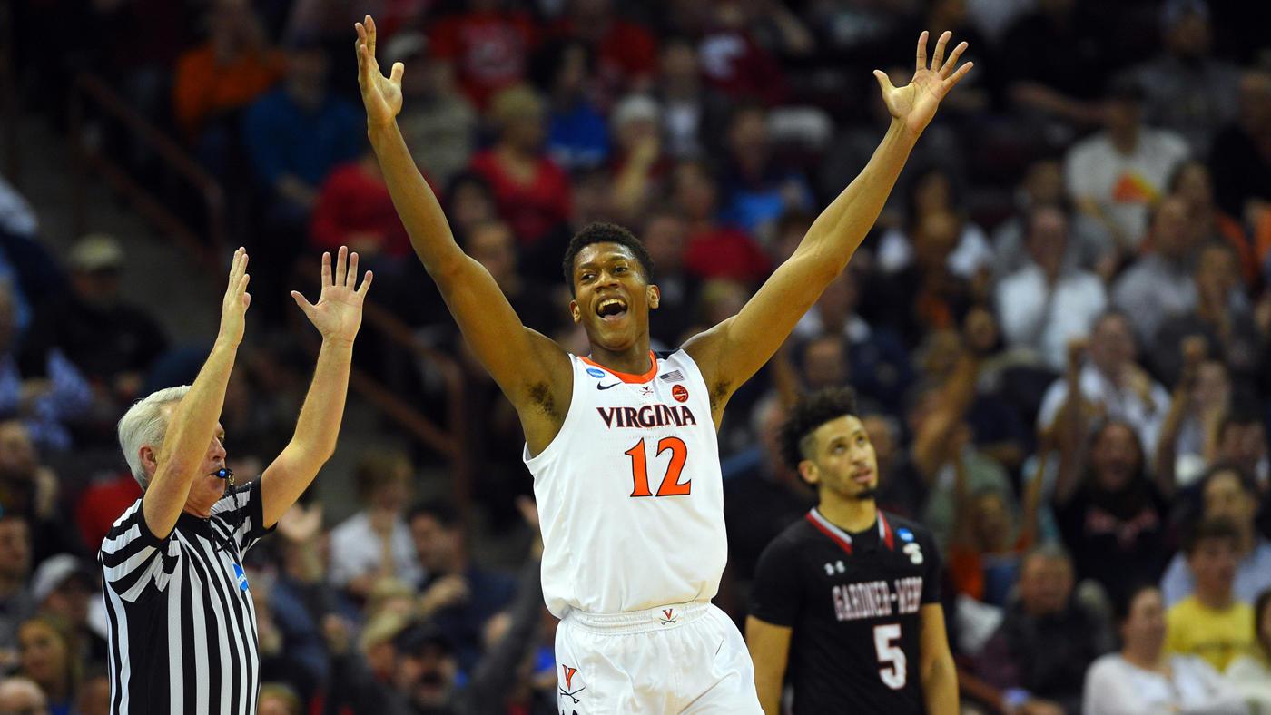 Uva unc cavaliers basketball clipart png freeuse stock Virginia vs. Gardner-Webb score: No. 1 seed Cavaliers rally ... png freeuse stock