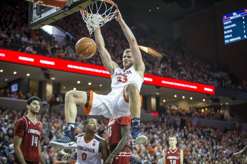 Uva unc cavaliers basketball clipart image free download Louisville vs. UVA: Score and Reaction from 2017 Regular ... image free download