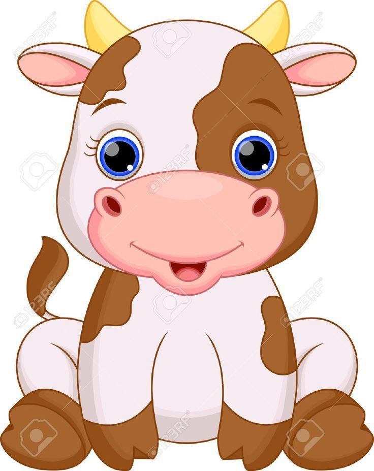 Vaca dibujo clipart graphic free Pin de María en DIBUJOS   Ilustración de vaca, Animales de ... graphic free