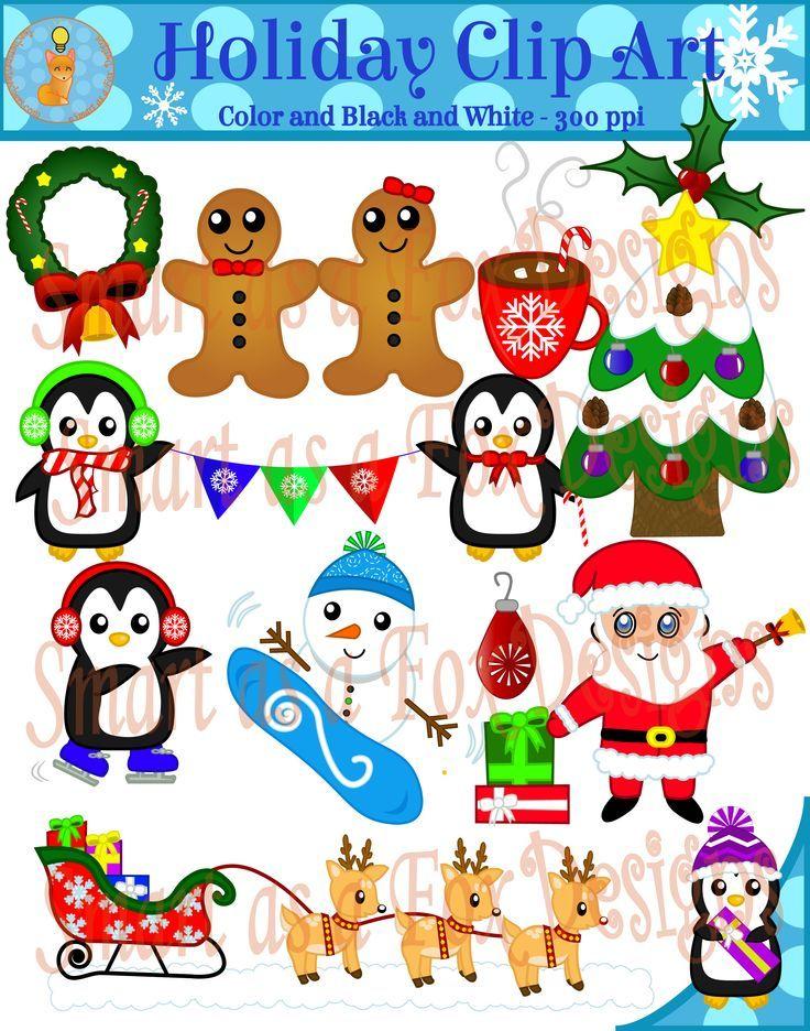 Vacaciones de invierno clipart clip freeuse stock Winter Holiday Clipart (Christmas)   navidad imprimibles ... clip freeuse stock