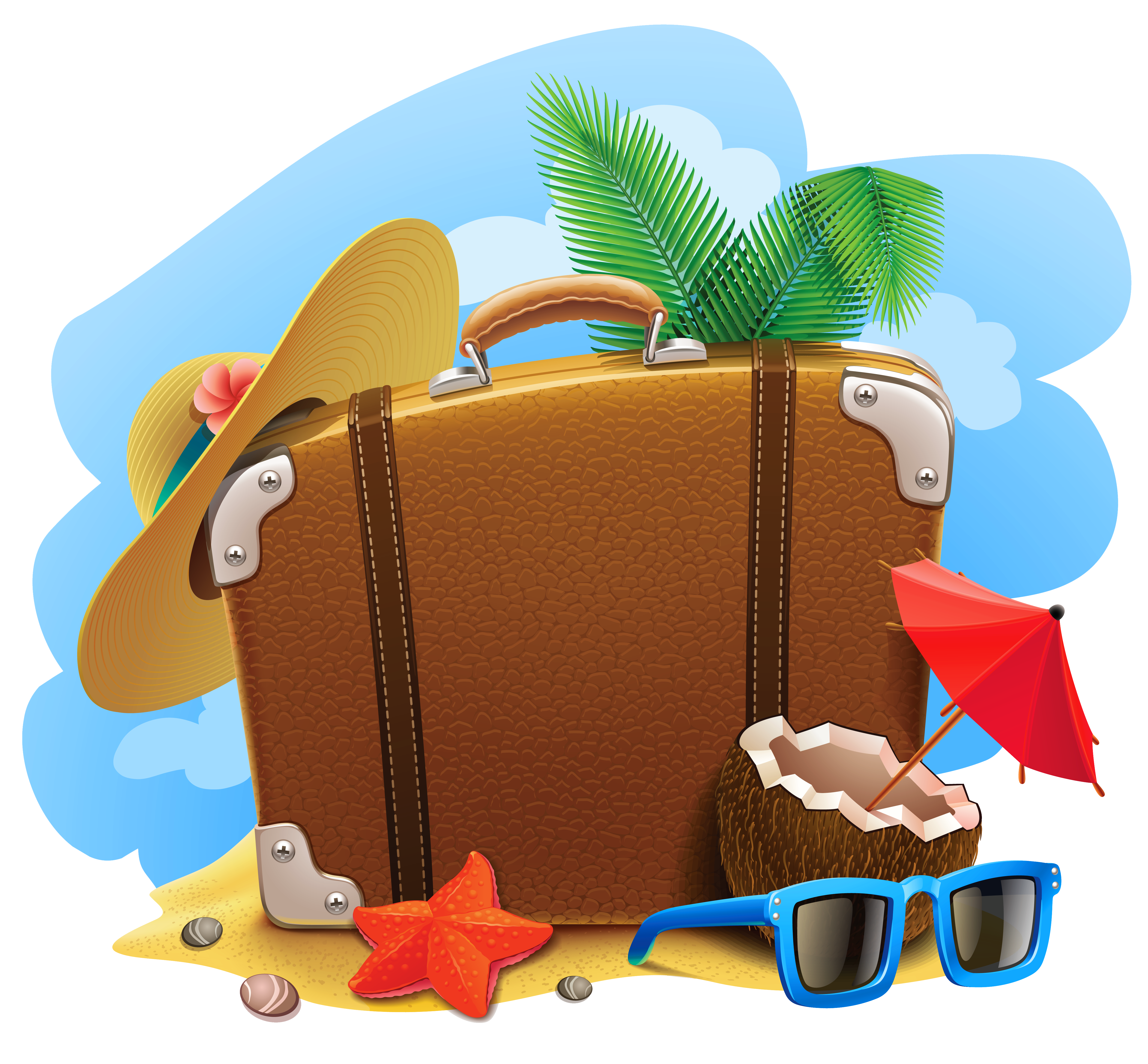 Vacation bingo clipart images jpg freeuse download Download Decorative Summer Picture Travel Vacation Suitcase ... jpg freeuse download