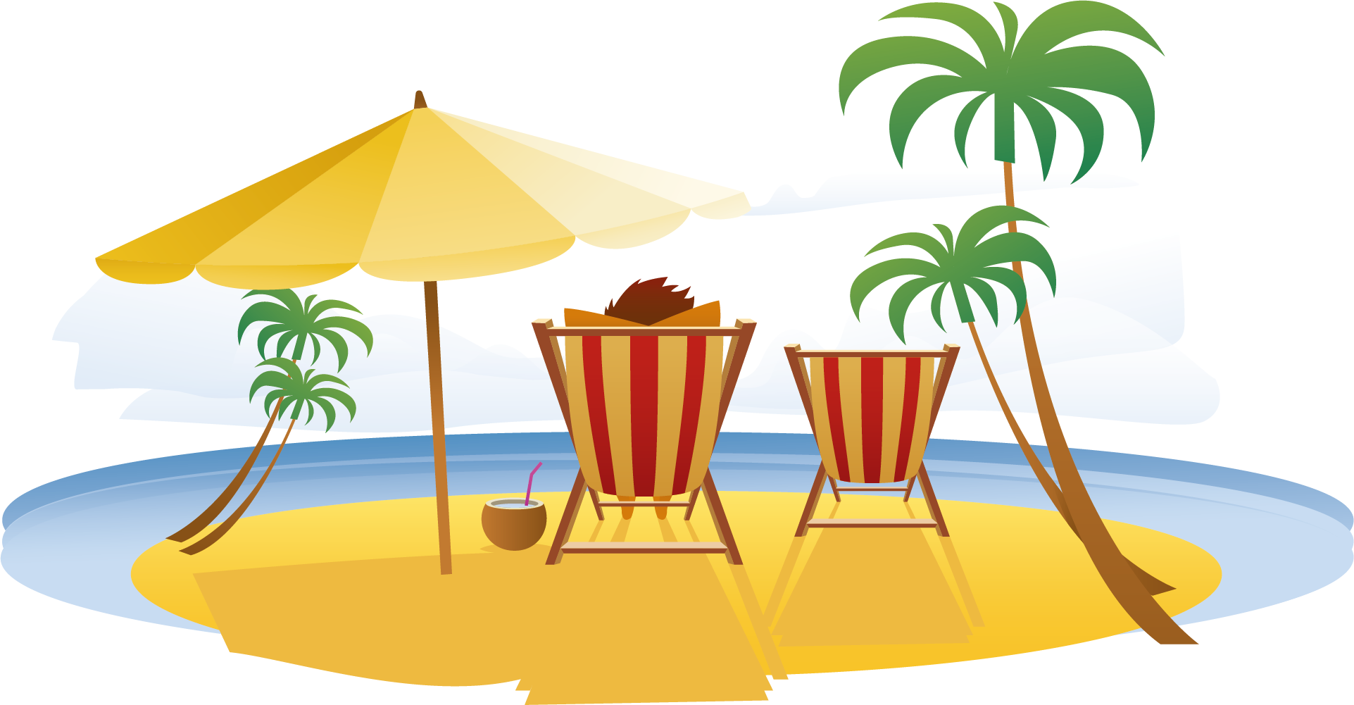 Vacation bingo clipart images image library Download Summer Relax Travel Seaside Vacation Resort In ... image library