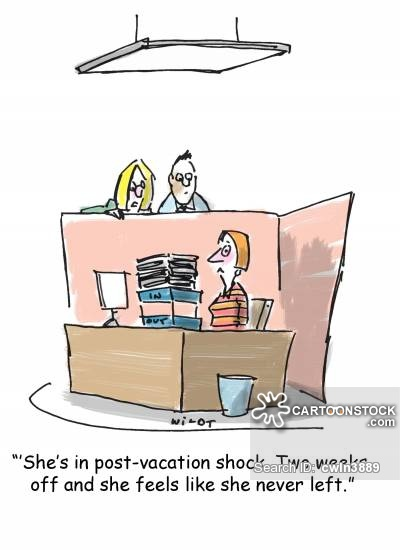 Vacation from work clipart picture download Back To Work Cartoons and Comics - funny pictures from CartoonStock picture download