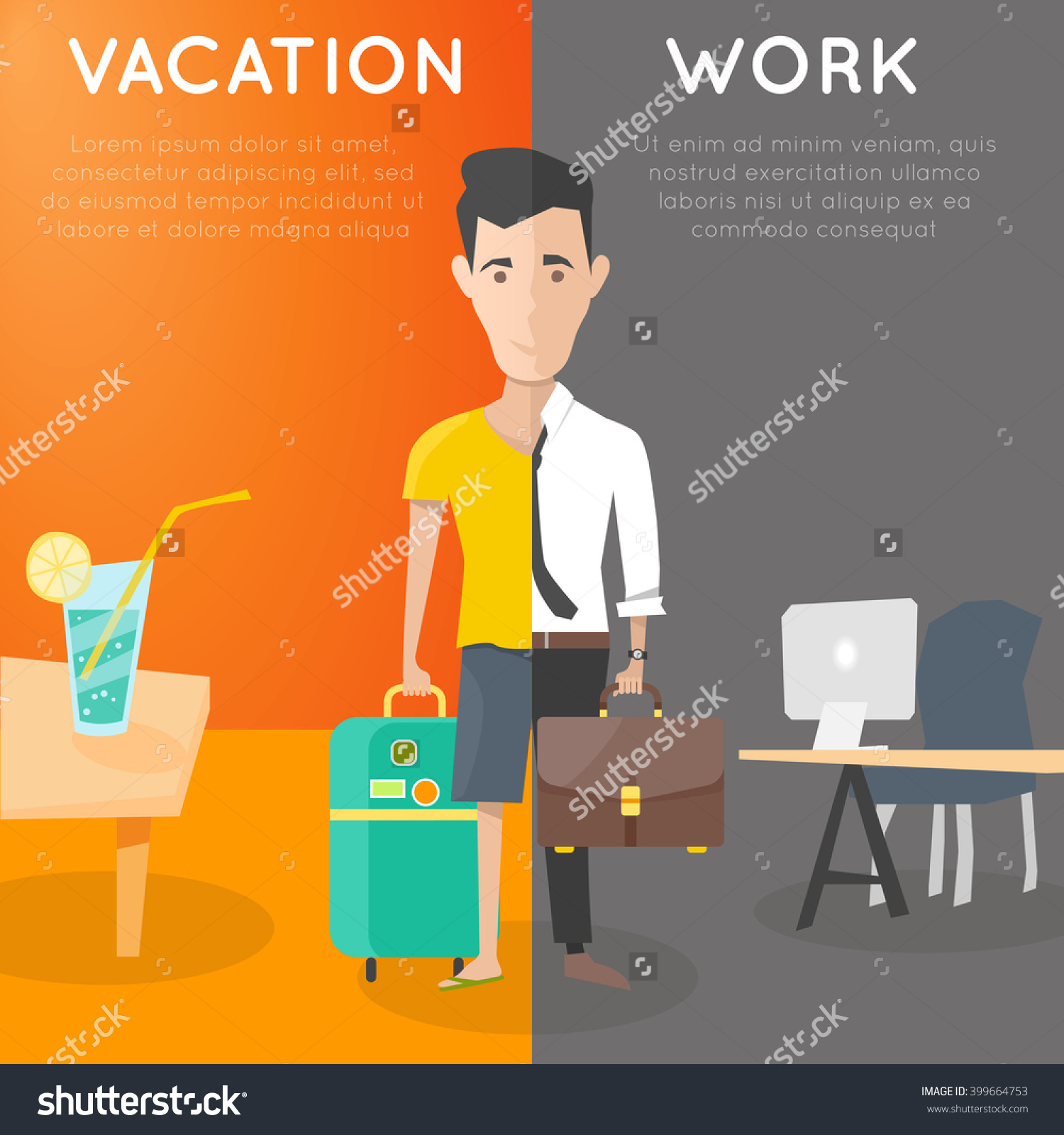 Vacation from work clipart clip art free library Vacation from work clipart - ClipartFest clip art free library