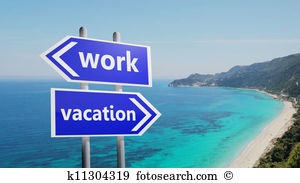 Vacation from work clipart banner library library Working vacation Illustrations and Clipart. 1,125 working vacation ... banner library library
