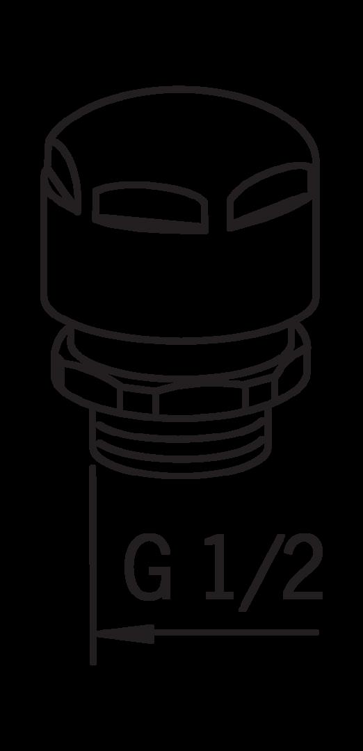 Vacuum breaker clipart clipart stock Oras 261011 Vacuum breaker, Type LA | Oras clipart stock