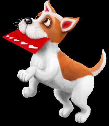 Valantines day cute dog clipart svg download Saint-Valentin.Valentine Day | clip arts | Dog art, Puppy ... svg download