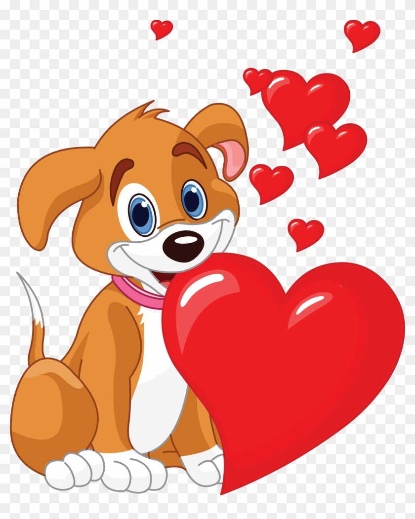 Valantines day cute dog clipart picture library stock Spring Pinterest Puppies Emoticon And Cute Dog - Dog ... picture library stock