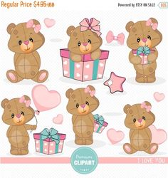 Valentine animal gram clipart png freeuse library Valentine clipart, valentine animal clipart, animal valentine ... png freeuse library