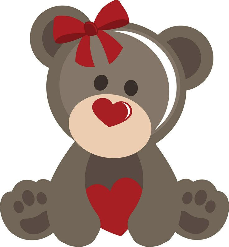 Valentine animals clipart png Photo: valentines-day-animal-3-animals-clipart ... png