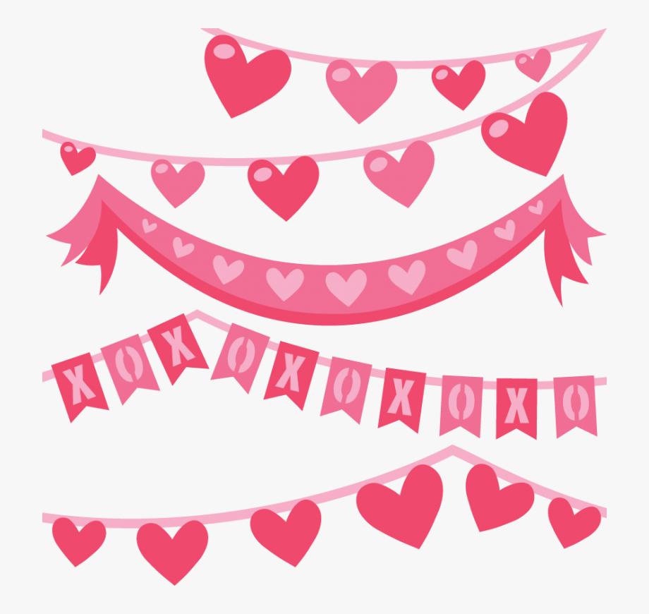 Valentine banners clipart picture Valentine Banner Clip Art Large Valentine Banners ... picture