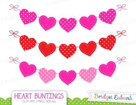 Valentines day banner clipart