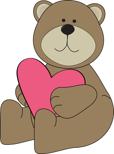 Valentine bear clipart vector royalty free library Valentine\'s Day bear. | Valentine\'s Day Clip Art | Heart ... vector royalty free library