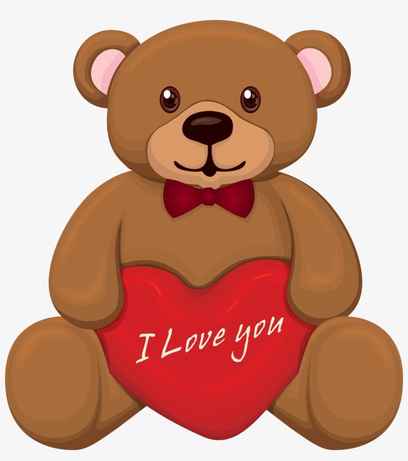 Valentine bear clipart clip royalty free download Valentine Bear Png Clipart - Teddy Clipart Transparent PNG ... clip royalty free download