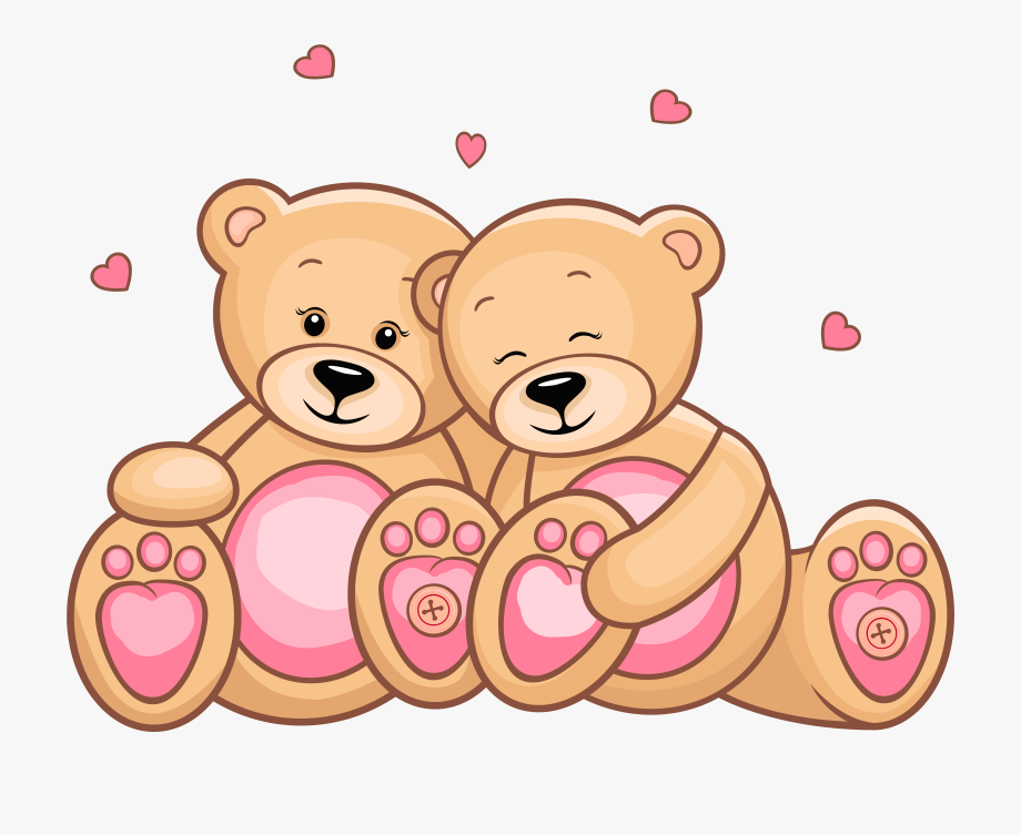 Valentine bear clipart image royalty free download Teddy Clipart Day - Valentines Day Teddy Bears Clipart ... image royalty free download