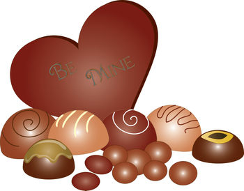 Valentine candy clipart picture royalty free Valentine Chocolate Candy Clipart picture royalty free