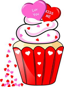 Valentine candy clipart clip art library library Valentine Cupcake Clipart clip art library library