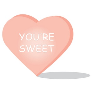 Valentine candy clipart