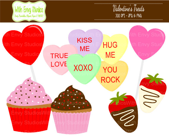 Valentine candy clipart clip art free download Bag Of Candy Valentine's Day Clipart - Clipart Kid clip art free download