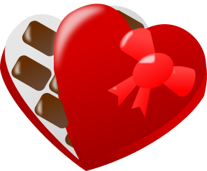 Valentine candy clipart png library stock Free Valentine Candy Clipart, 1 page of Public Domain Clip Art png library stock