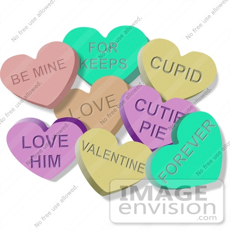Valentine candy clipart banner library Valentine's Day Candy Clipart - Clipart Kid banner library