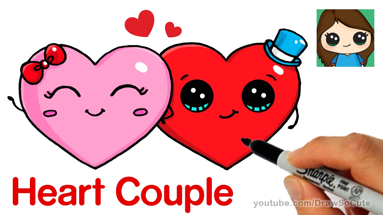 Valentine candy clipart too cute image free How to Draw Cute Hearts Easy image free