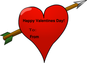 Valentine card clipart free graphic freeuse Valentine Card Clip Art at Clker.com - vector clip art ... graphic freeuse