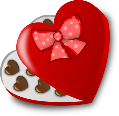Valentine chocolates clipart royalty free library Free Valentine Chocolate Clipart - Clipart Picture 1 of 5 royalty free library