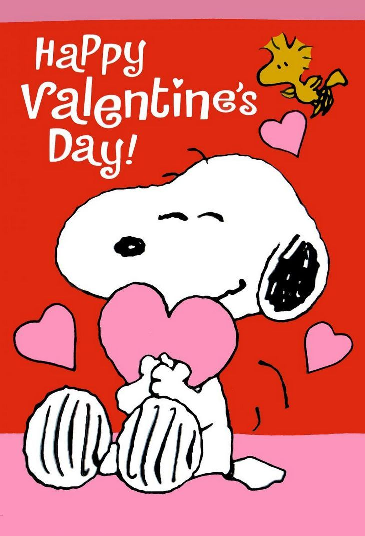 Valentine clipart charlie brown royalty free stock Happy Valentine\'s Day, From The Peanuts Gang! Win A Peanuts ... royalty free stock