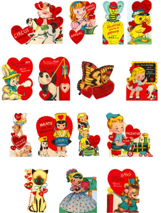 Valentine clipart free printable jpg freeuse stock Free Vintage Valentine Clip Art & Vintage Valentine Clip Art Clip ... jpg freeuse stock