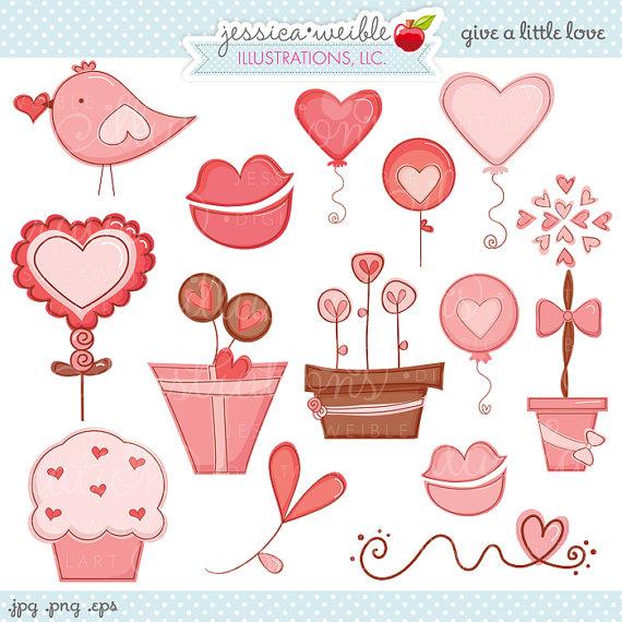 Valentine cute clipart graphic transparent download Cute valentines love clipart - ClipartFest graphic transparent download