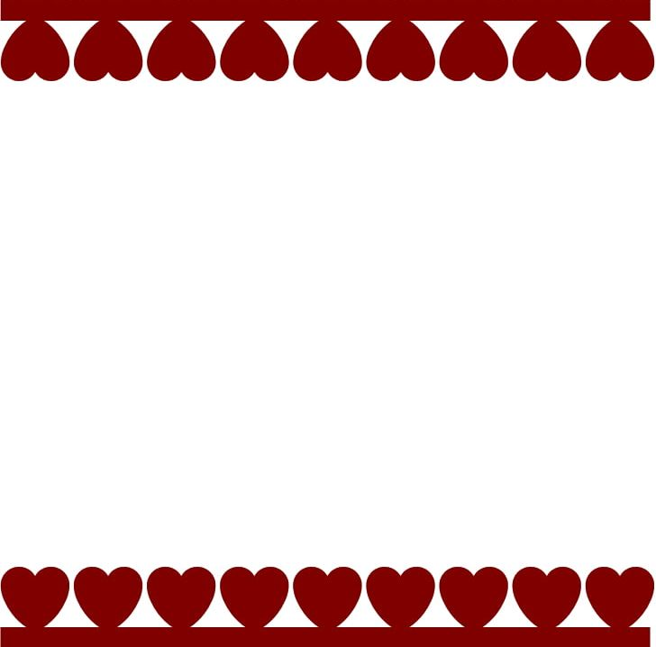 Valentine day borders clipart vector black and white download Valentine\'s Day Heart PNG, Clipart, Area, Borders, Clip Art ... vector black and white download