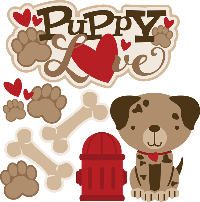 Valentines dog clipart picture library Puppy Love - SVG Scrapbooking files   Cuttable Scrapbook SVG Files ... picture library