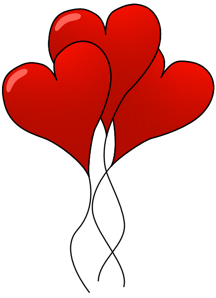 Valentine hearts clipart png free download Free Valentine Hearts Clipart, 5 pages of Public Domain Clip Art png free download
