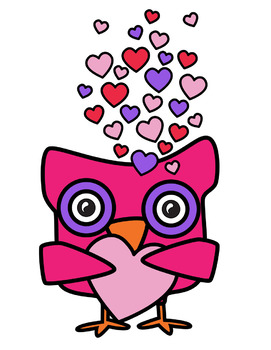 Valentine owl clipart svg library download Valentine Owls Clipart svg library download