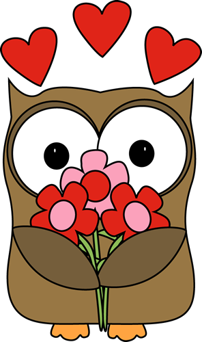 Valentine owl clipart jpg royalty free Valentine\'s Day Owl … | cards valentine\'s | Owl c… jpg royalty free