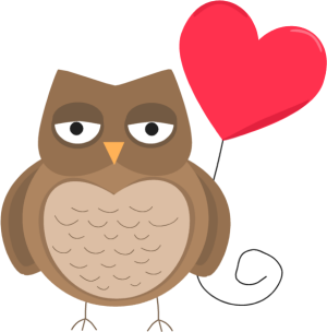 Valentine owls pictures clipart banner free stock Free Owl Heart Cliparts, Download Free Clip Art, Free Clip ... banner free stock