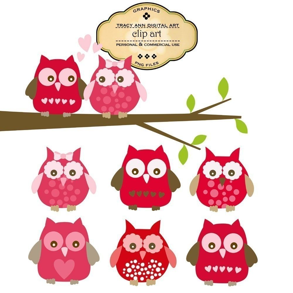 Valentine owl clipart free graphic royalty free valentines day clipart free - Google Search | Sugar cookies ... graphic royalty free