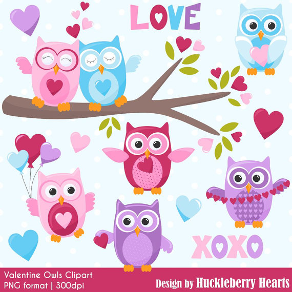 Valentine owl clipart free graphic freeuse download Valentine\'s Day Clipart, Valentine Clip Art, Owl Clipart ... graphic freeuse download
