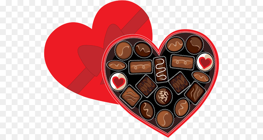 Valentine s day chocolate heart clipart