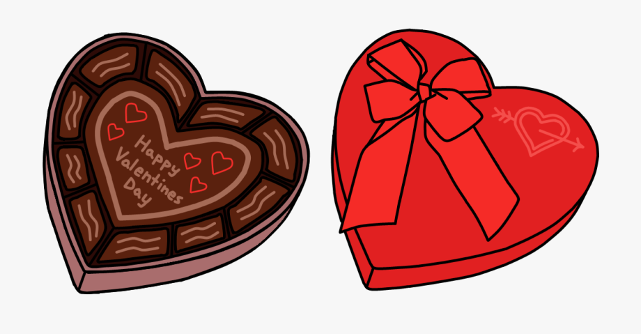 Valentines chocolate clipart image freeuse stock Valentine Chocolate Clipart - Valentines Day Props Png ... image freeuse stock