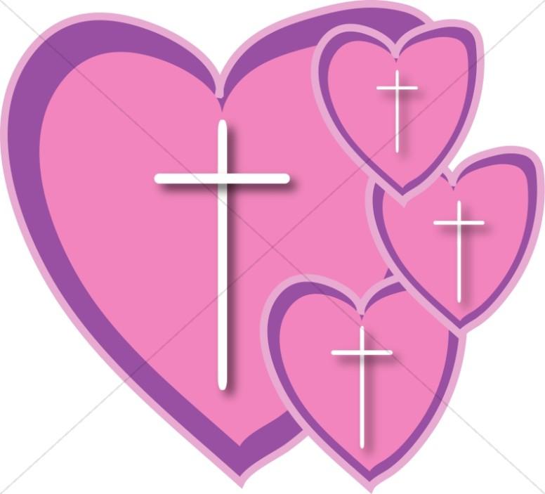Outlined cross in heart clipart clip art library Christian Heart Clipart, Christian Heart Images - Sharefaith clip art library