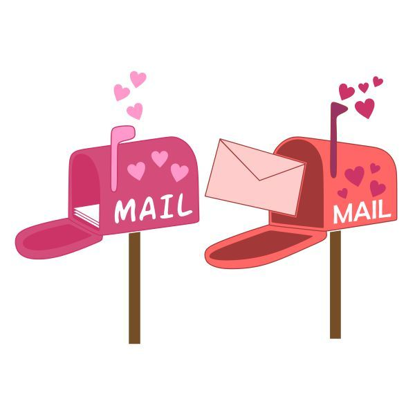 Valentine s mailbox day clipart png freeuse library Pin by CuttableDesigns on Valentine\'s Day | Cutting tables ... png freeuse library