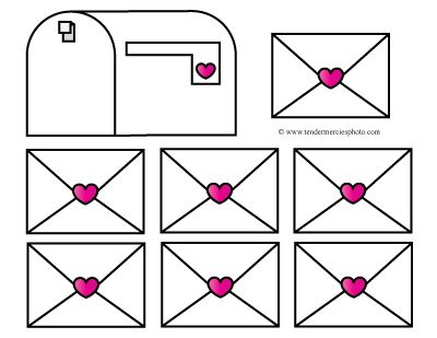 Valentine s mailbox day clipart png library free valentine mailbox clipart printable teacher preschool ... png library