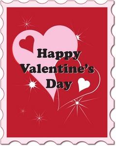 Valentine stamp clipart graphic transparent download Valentine\'s Day Stamp | Weather Clipart graphic transparent download