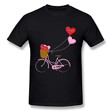 Valentine tshirt clipart jpg freeuse download Amazon.com: BOAIS Valentine\'s Day Bicycle PNG Clipart Image ... jpg freeuse download